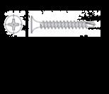 Auto – drill screw 3,5 x 25 (1000pc.)