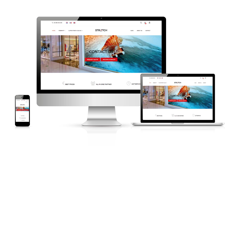 Een nieuwe website !